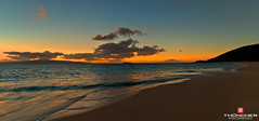 Big Beach (Glen Thuncher) Tags: sunset hawaii nikon maui fullframe fx molokini d800 makena bigbeach nikond800 nikkor1424mmlens