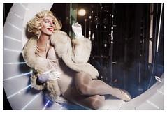 Marilyn Monroe (Levieran2) Tags: gay smile dead drag happy israel colorful theater shoot photoshoot pride purim queen diva divas