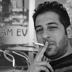 "Alper smoking <a style=""margin-left:10px; font-size:0.8em;"" href=""http://www.flickr.com/photos/59134591@N00/8510801600/"" target=""_blank"">@flickr</a>"