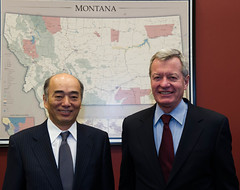 "Senator Baucus Meets with Ambassador Fujisaki • <a style=""font-size:0.8em;"" href=""http://www.flickr.com/photos/32619231@N02/8513015699/"" target=""_blank"">View on Flickr</a>"