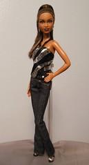 DSCN0798 (starzzzcollide) Tags: startrek barbie jeans accessories uhura mbili nyota barbiebasics blackbarbiemodelmuse