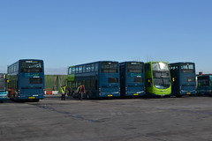 Arriva North West 4503 (4504) MX13AEE - 4514 MX13ACZ - 4505 MX13AEG - 4502 (4503) MX13AFJ - 4502 MX13AFF (Will Swain) Tags: street uk england west bus buses liverpool march tour garage north birkenhead trust vehicle depot restoration laird 3rd merseyside 4504 arriva 4505 4502 2013 4503 4514 nwvrt mx13aeg mx13aee mx13aff mx13afj mx13acz