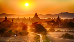2013_Bagan_Sunset (yacsirius) Tags: sunset myanmar bagan shwesandaw