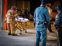Emergency Response: Stretcher Setup (Entropic Remnants) Tags: pictures mill industry photography photo industrial image photos pics steel picture pic images panasonic photographs photograph remnants entropic dmclx7 entropicremnantscom