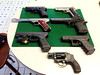 Pistol Collection (FobbyPhoto) Tags: guns sig pistols glock ruger deserteagle smithandwesson kimber1911