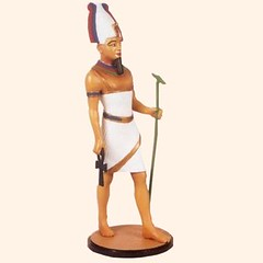 E2 Osirus Egyptian Gods and Goddesses (Tradition of London) Tags: toy actionfigures toyshop toysoldiers oldtoys 110mm modelsoldiers toyfigures toyminiature traditionoflondon