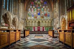 Lady Chapel (pirate057) Tags: uk england architecture cathedral unitedkingdom gothic chapel norman devon exeter bishop anglican georgegilbertscott saintpeter ladychapel johnloughboroughpearson thomasofwyttenaye