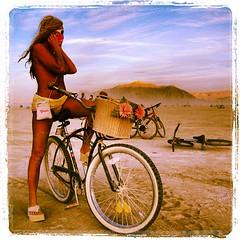 Babes, bikes and dust...... #bm #brc #brc2009 #burningman #blackrockcity #playadust #burningman2009 #playa #thisonetimeatburningman (room714) Tags: square squareformat lordkelvin iphoneography instagramapp uploaded:by=instagram