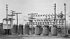 Yucaipa sub (en tee gee) Tags: california old wires transformers substation insulators