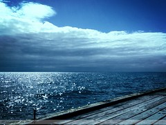 mar13 971 (raqib) Tags: sea sky beauty mobile clouds pier waves peace horizon serenity rc frankston pathos iphone shadesofblue mononoaware frankstonpier raqib raqibchowdhury