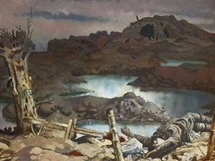 Zonnebeke (1918) (failing_angel) Tags: london tatebritain millbank lonodn cityofwestminster zonnebeke sirwilliamorpen 290313