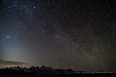 Comet Pan-STARRS and Night Sky (Free Roaming Photography) Tags: sky usa mountain snow mountains west night stars star nationalpark clear andromeda galaxy western northamerica kelly nightsky galaxies wyoming teton tetons comet grandteton meteor jacksonhole darksky milkyway grandtetonnationalpark shootingstar andromedagalaxy antelopeflats panstarrs milkywaygalaxy cometpanstarrs