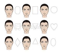 Faces types (larus photography) Tags: people female circle women triangle makeup eyebrow ellipse shape cosmetics rectangle vector variation diamondshaped humaneye humanhead humanface humanear squareshape beautyandhealth humannose humanlips