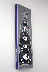 Totem Pole #2 - Y+C=LR Project - 12 (Jepeinsdesaliens) Tags: art lines illustration graffiti design sketch drawing totem dessin totempole characters charmed posca poscaart poscadesign totemproject totemmagique