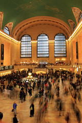 Grand Central Station (bryandgg) Tags: new york city nyc newyorkcity people newyork station canon subway exposure slow manhattan central grand terminal grandcentralstation grandcentral grandcentralterminal t3i slowexposure 600d grandterminal