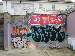OWED . DRAX (Brighton Rocks) Tags: graffiti brighton drax owed