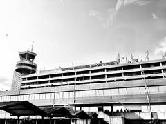Murtala Muhammad Airport I 2013 (photophile2012) Tags: travel blackandwhite photography airport lagos nigeria iphone phoneography murtalamuhammadairport murtalamuhammad