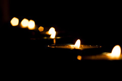 Yahrzeit Candles for Holocaust Victims (Photography by Chris Howard) Tags: chris usa 20d by night america canon photography eos holocaust dc washington districtofcolumbia long candles candle d howard year photoaday 20 project365 photo365 photographybychrishoward