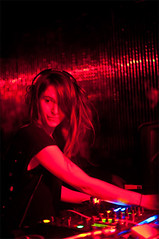LaBlackPudding#4_11 (Celia Almuedo dontcoveryoureyes) Tags: red music night dj soire laglobal lablackpudding