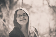 Lex (Dorothy Jarry) Tags: family sunset portrait blackandwhite bw black cute girl beautiful beauty smile canon outdoors happy person eos rebel 50mm glasses spring aperture pretty dof natural awesome young newengland ct depthoffield laugh canonrebel canoneos ef50mm 550d windhamcounty t2i canont2i canoneosrebelt2i canonrebelt2i dorothyjarry