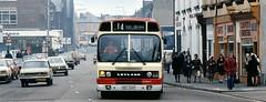 Plus ça change, plus c'est la même chose (georgeupstairs) Tags: street bus tesco national 28 leyland widnes halton national2 haltonboroughtransportlimited hed204v