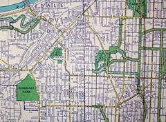Kansas City KS-MO 1962 (davecito) Tags: midwest map ephemera kansascity planning missouri transportation cartography kansas 1960s roadmap urbanplanning drafting streetmap citymap oldmap vintagemap highwaymap largestcities gallupmap