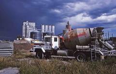 Old International (RailPhotos+) Tags: storm truck concrete cementmixer cement mixer international cementtruck concretemixer guymon guymonok impendingstorm concretetruck guymonoklahoma