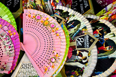 Mercado de San Miguel (fede_gen88) Tags: madrid espaa colors spain nikon colorful colours market mercado fans colourful sanmiguel abanicos d5100