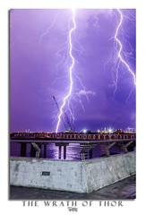 The Wrath of Thor (Ashley Matthew Teo) Tags: sky storm nature bulb night singapore long exposure slow purple dramatic shutter thunderstorm lightning epic fury