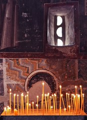 (<Katarina>) Tags: church candles serbia monastery kosovo christianity orthodox patriarchate christisrisen pec metohija