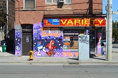 621 Bathurst St - 3 - April 21, 2013 (collations) Tags: toronto ontario architecture documentary vernacular streetscapes builtenvironment cornerstores conveniencestores urbanfabric varietystores