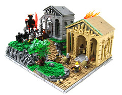 Wrath of the Titans; Army of the Underworld (K.Kreations) Tags: greek lego roman underworld wrath titans greco kkreations