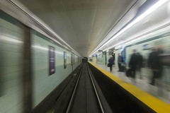 Departing St. George (michaelTO) Tags: toronto ontario canada subway ttc motionblur 365 subwaystation stgeorge day112 torontotransitcommission stgeorgesubwaystation project365 2013 day112365 365the2013edition 22apr13