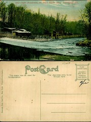 Upper Brandywine and Du Pont's Powder Mills, Wilmington, Del. (Delaware Public Archives) Tags: industry water river factory business explosives