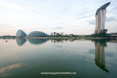 Garden By the Bay 02 (yewkwangphoto) Tags: flowers trees sea cloud lake seascape tourism water horizontal architecture landscape singapore asia cityscape country bluesky tourist tropical placeofinterest buildingstructure flowerdome photocategory marinabaysand yewkwang gardenbythebay photographybyyewkwang