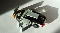 De Lorean DMC-12 (hajdekr) Tags: auto car mobile de toy automobile doors lego small vehicle delorean dmc12 stainless gullwing microspace automobil lorean microscale nerez 4wide