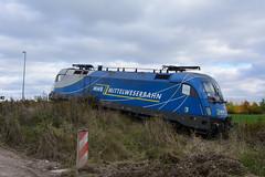 182 911-8 (n4fade) Tags: train deutschland thüringen erfurt siemens eisenbahn railway evb taurus mwb unfall privatbahn elok vieselbach baureihe182 d7100 drehstrom es64u2 mittelweserbahn es64 nikond7100 1829118 11161312