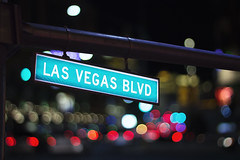 las vegas blvd. (StephsShoes) Tags: street city vegas paris sign skyline lights neon lasvegas nevada strip bellagio fountains lasvegasblvd