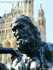 Rodin's Burgher of Calais (sciencebase) Tags: london siteseeing summer city