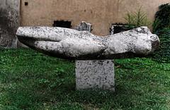 let me rest a bit (margycrane) Tags: rzeba sculpture warsaw warszawa art