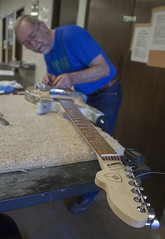 (Intraktable) Tags: wood shop bansaw stain paint spray glue project drill body neck fret board architecture guitar building stem guitarbuildingorg college teachers students indoor room text writing signboard seattle tools diy steam washinton lines