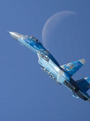 Sukhoi Su-27 Flanker | Ukrainian Air Force (f1_mirage) Tags: sukhoi su27 flanker ukrainian air force 58 lzsl sliac airshow siaf 2016 slovak international fest