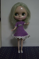 Purple dress for Neo Blythe