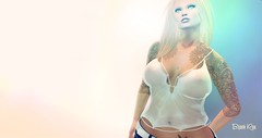 Lagoona ~ WET (BijankRau   [ photograp'r model.]) Tags: bc bt designs bijou couture fashion lowprice high quality twist her his wet hud textures lagoona summer maitreya slink classic blondes blondy dutch shopping blog