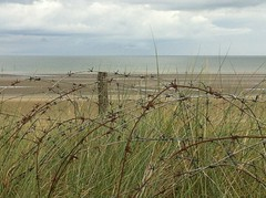 HFF Utah Beach, Normandy, France {explored} (Deirdre Snook) Tags: utah beach normandy landings hff france barbed wire