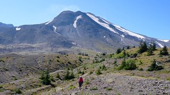 Mt St Helens Loop (Washington, August 2016) - 66 (threeleggeddog) Tags: hiking backpacking tecla bruno teclaris brunorijsman mtsthelens mountsainthelens sthelens volcano