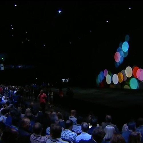 Being a #ConferenceGhost of #AppleEvent. ^^