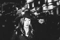 Thoughtful (Nico Ferrara) Tags: london china town bw monochrom monocromo bianco e nero biancoenero people candid streetphotography shot flash ricoh