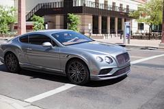 2016 Bentley Continental GT Speed (raptoralex) Tags: bentley bentleycontinental speed bentleycontinentalspeed continental luxury luxurycar car automobile bentleymotors wealth phoenix arizona downtown