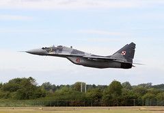 MiG-29A (CRAIG FERGUSON PHOTOGRAPHY) Tags: f35 f35b bae systems eurofighter typhoon royal international air tattoo airshow aviation aircraft avgeek mig mig29a fairford fighter riat riat2016 riat2015 force jet jets military